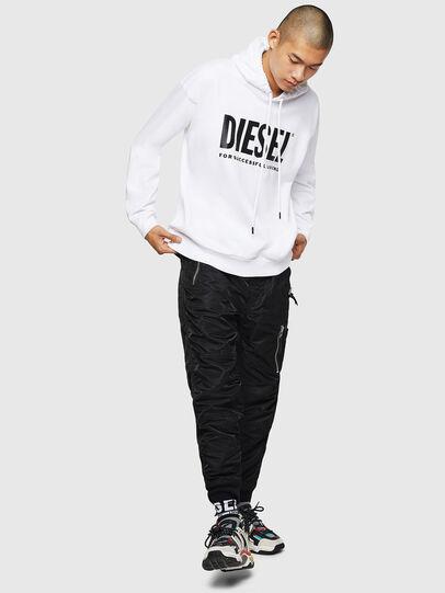 Diesel - S-DIVISION-LOGO, White - Sweatshirts - Image 5