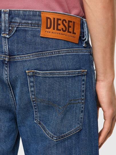 Diesel - Larkee 09A80, Medium Blue - Jeans - Image 3
