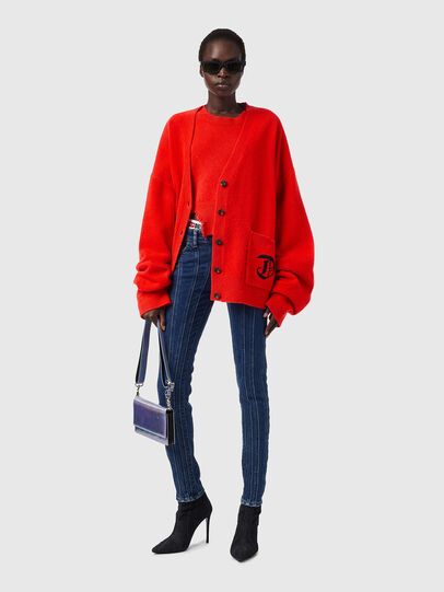 Diesel - M-LOUISIANA, Orange - Sweaters - Image 4