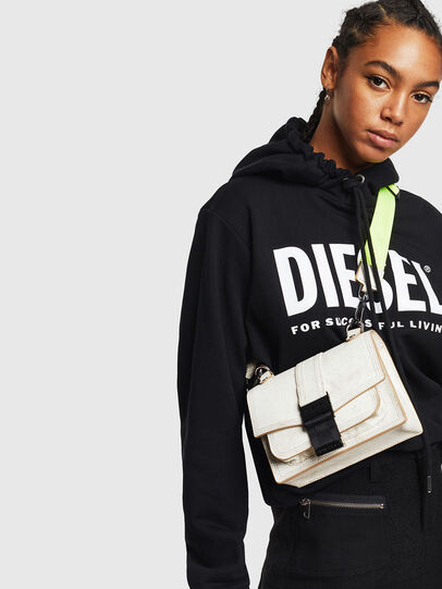 Diesel - MISS-MATCH CROSSBODY, White - Crossbody Bags - Image 6