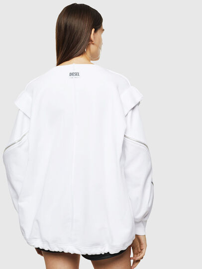 Diesel - F-HOSY, White - Sweatshirts - Image 2