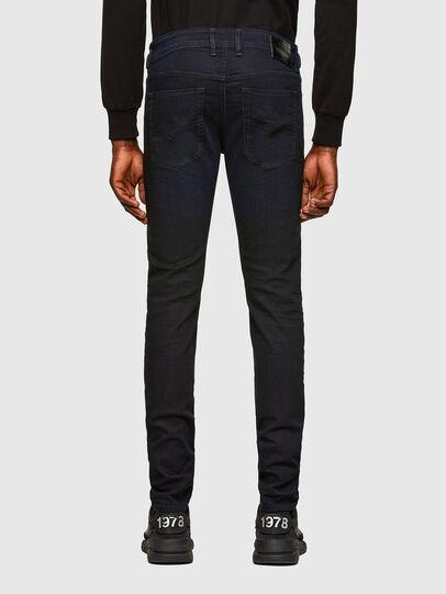 Diesel - Sleenker Skinny Jeans 0095X, Dark Blue - Jeans - Image 2