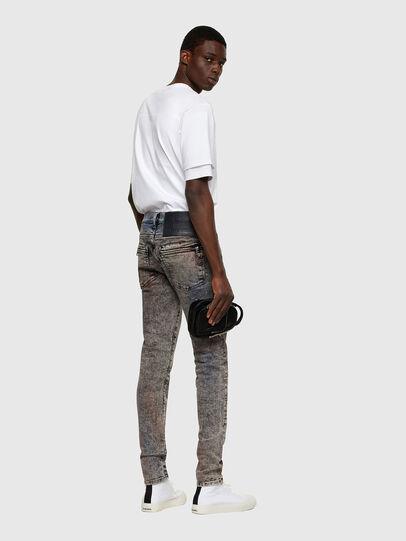 Diesel - D-Amny Skinny Jeans 009VG, Black/Dark Grey - Jeans - Image 5