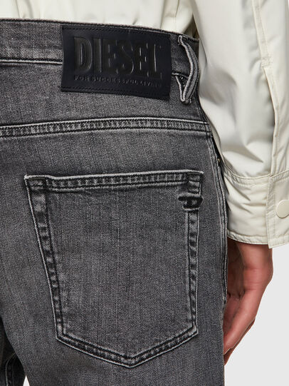 Diesel - D-Fining Tapered Jeans 09A11, Black/Dark Grey - Jeans - Image 3