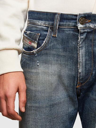 Diesel - D-Strukt Slim Jeans 009TX, Dark Blue - Jeans - Image 4