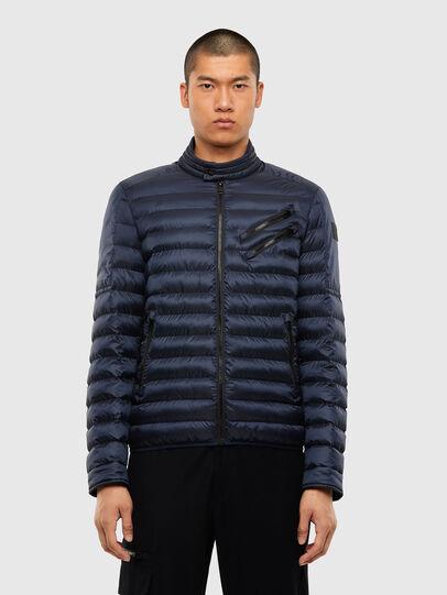 Diesel - W-DOLMIR-KA, Dark Blue - Winter Jackets - Image 1