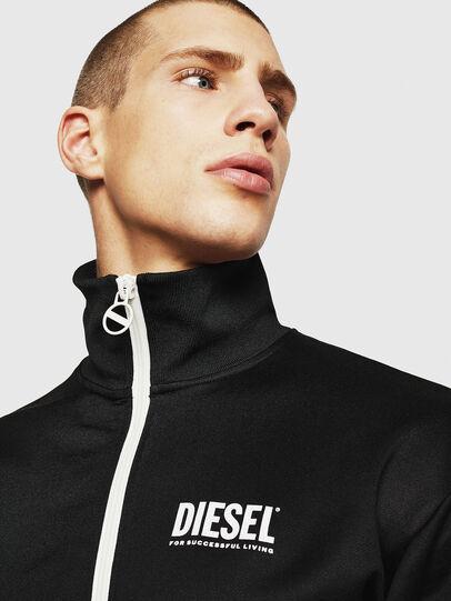 Diesel - S-AKON, Black - Sweatshirts - Image 3