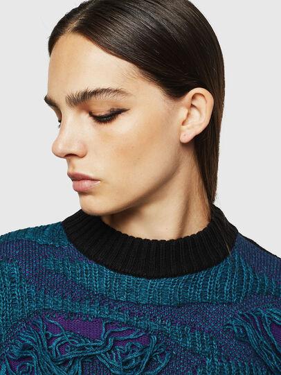 Diesel - M-KAM, Blue Marine - Sweaters - Image 6