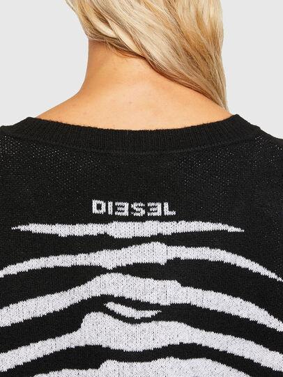 Diesel - M-CRYSTAL, Black - Sweaters - Image 3