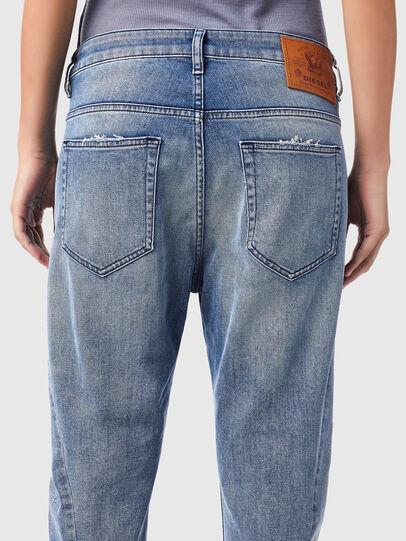 Diesel - Fayza Boyfriend Jeans 09B16, Light Blue - Jeans - Image 4