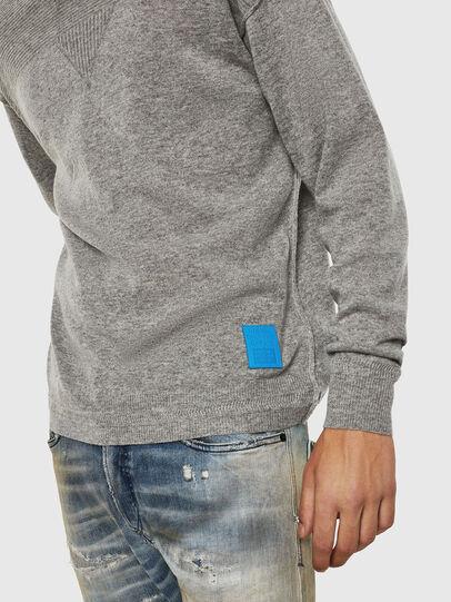 Diesel - K-LETO, Grey - Sweaters - Image 3