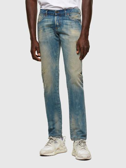 Diesel - D-Kras Slim Jeans 009JY, Light Blue - Jeans - Image 1