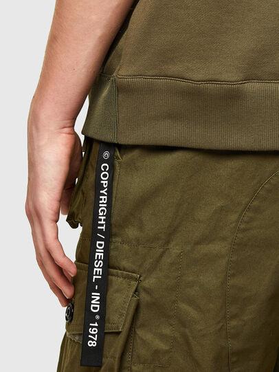 Diesel - K-MILKY, Military Green - Sweaters - Image 4