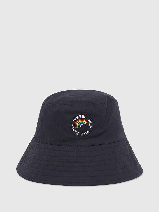 FISHERCAP-P, Black - Caps