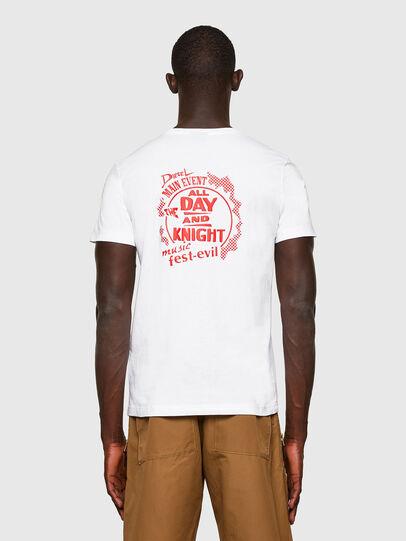 Diesel - T-DIEGOS-K15, White - T-Shirts - Image 2