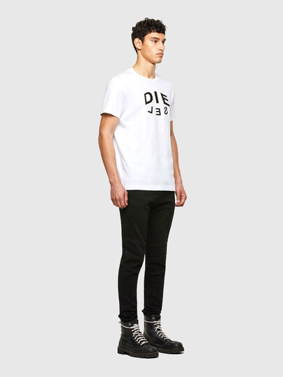 Diesel - T-DIEGOS-A1, White - T-Shirts - Image 4