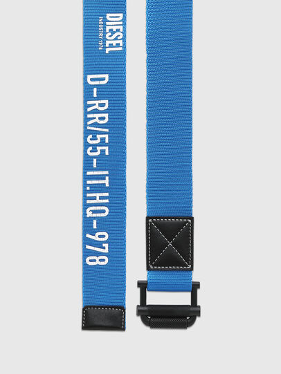 Diesel - B-MIXTEIP, Blue - Belts - Image 3