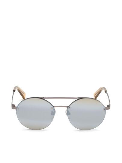Diesel - DL0275, Silver - Sunglasses - Image 1