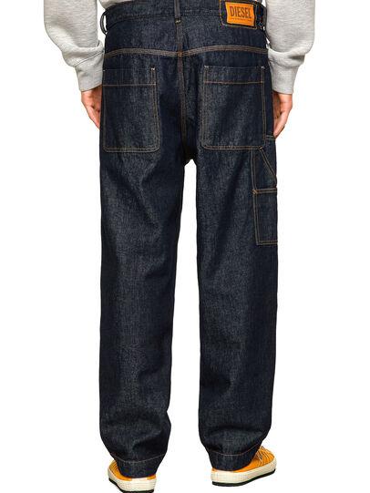 Diesel - D-Franky Straight Jeans 009HP, Dark Blue - Jeans - Image 2