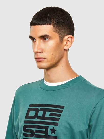Diesel - S-GIRK-K15, Water Green - Sweatshirts - Image 3