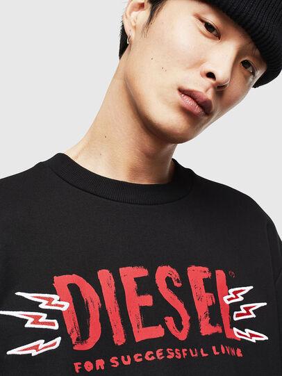 Diesel - CL-SNOR-LITMA, Black - Sweatshirts - Image 3