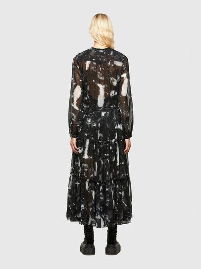 Diesel - D-HINES-A, Black - Dresses - Image 2