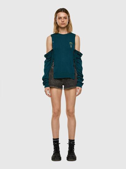 Diesel - M-MIRANDA, Water Green - Sweaters - Image 6
