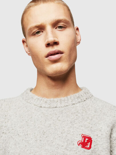 Diesel - K-CASY, Light Grey - Sweaters - Image 4