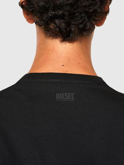 Diesel - T-DIEGOS-N29, Black - T-Shirts - Image 4
