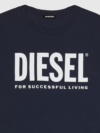 Diesel - T-DIEGO-LOGO, Dark Blue - T-Shirts - Image 3