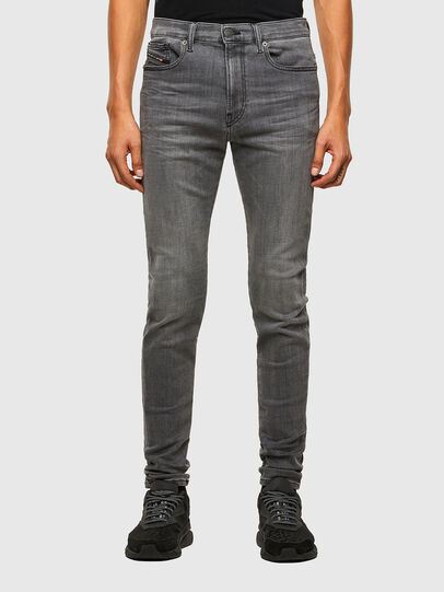 Diesel - D-Amny Skinny Jeans 009NZ, Black/Dark Grey - Jeans - Image 1