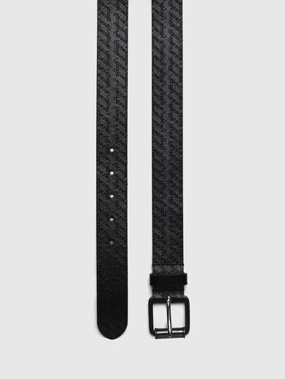 Diesel - B-ZENO, Black - Belts - Image 3