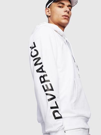Diesel - S-GIRK-HOOD-S4, White - Sweatshirts - Image 7