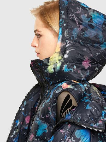 Diesel - W-JANUA, Blue/Black - Winter Jackets - Image 3