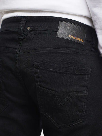 Diesel - Larkee 0688H, Black/Dark Grey - Jeans - Image 4