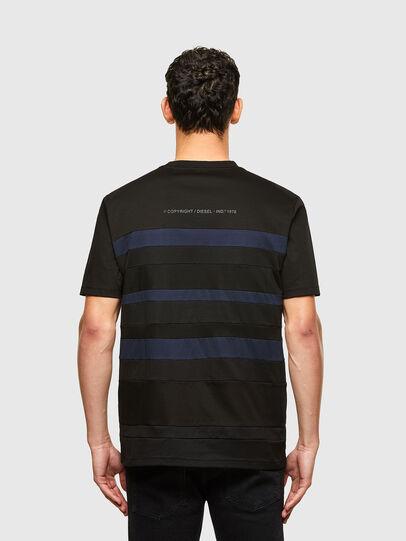 Diesel - T-LOUD, Black - T-Shirts - Image 2