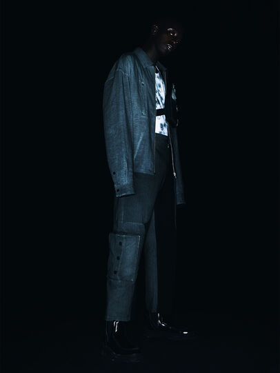 Diesel - ACW-SH02, Black - Denim Shirts - Image 5