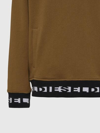 Diesel - UMLT-BRANDON, Light Brown - Sweatshirts - Image 3