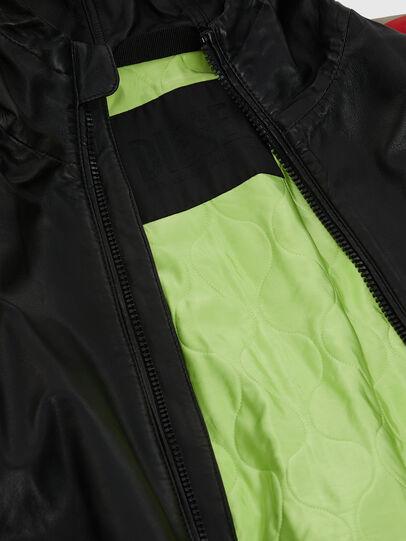 Diesel - L-MATHIAS, Black - Leather jackets - Image 7