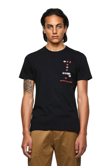 Green Label T-shirt with equation print