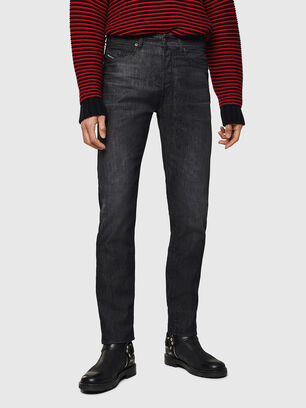 Buster 082AT, Black/Dark Grey - Jeans