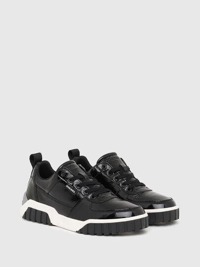 Diesel - S-RUA LOW W, Black - Sneakers - Image 2