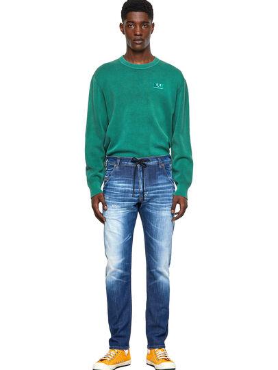 Diesel - Krooley Tapered JoggJeans® 09B52, Medium Blue - Jeans - Image 5