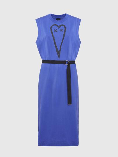 Diesel - D-FAIRY, Blue - Dresses - Image 1