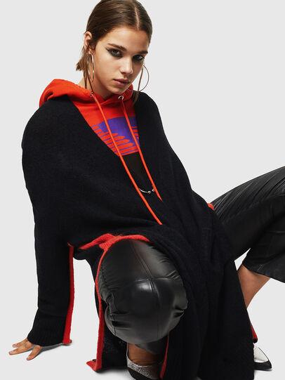 Diesel - M-SURI, Black/Red - Sweaters - Image 4