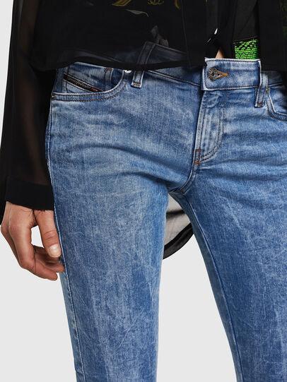 Diesel - Gracey JoggJeans 0870P, Light Blue - Jeans - Image 3