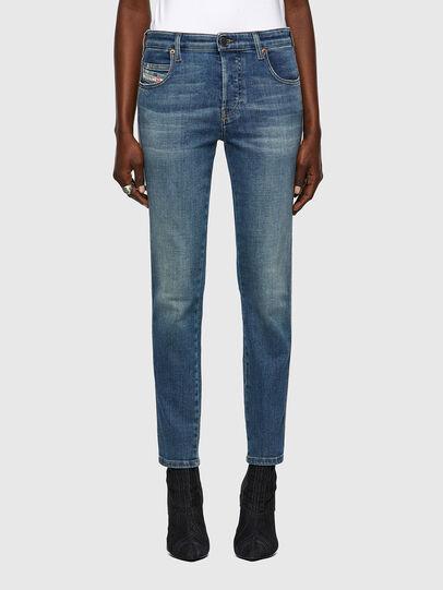 Diesel - Babhila Slim Jeans 09A01, Medium Blue - Jeans - Image 1