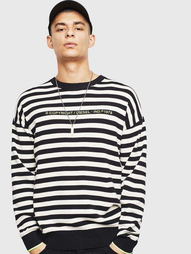 K-SLASSH, Black/White - Sweaters