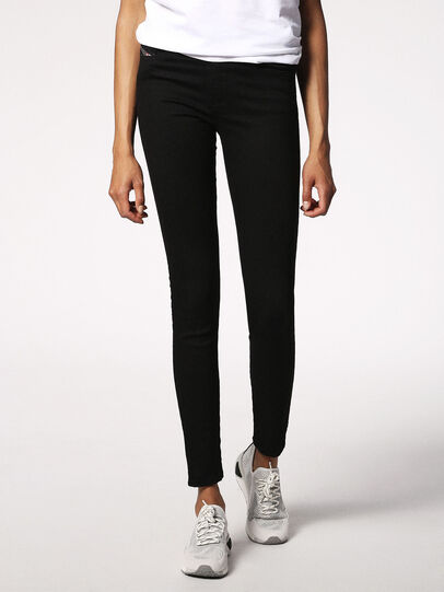 Diesel - Skinzee 0813E, Black/Dark Grey - Jeans - Image 1