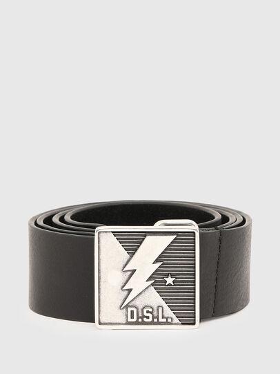 Diesel - B-MONT, Black - Belts - Image 1